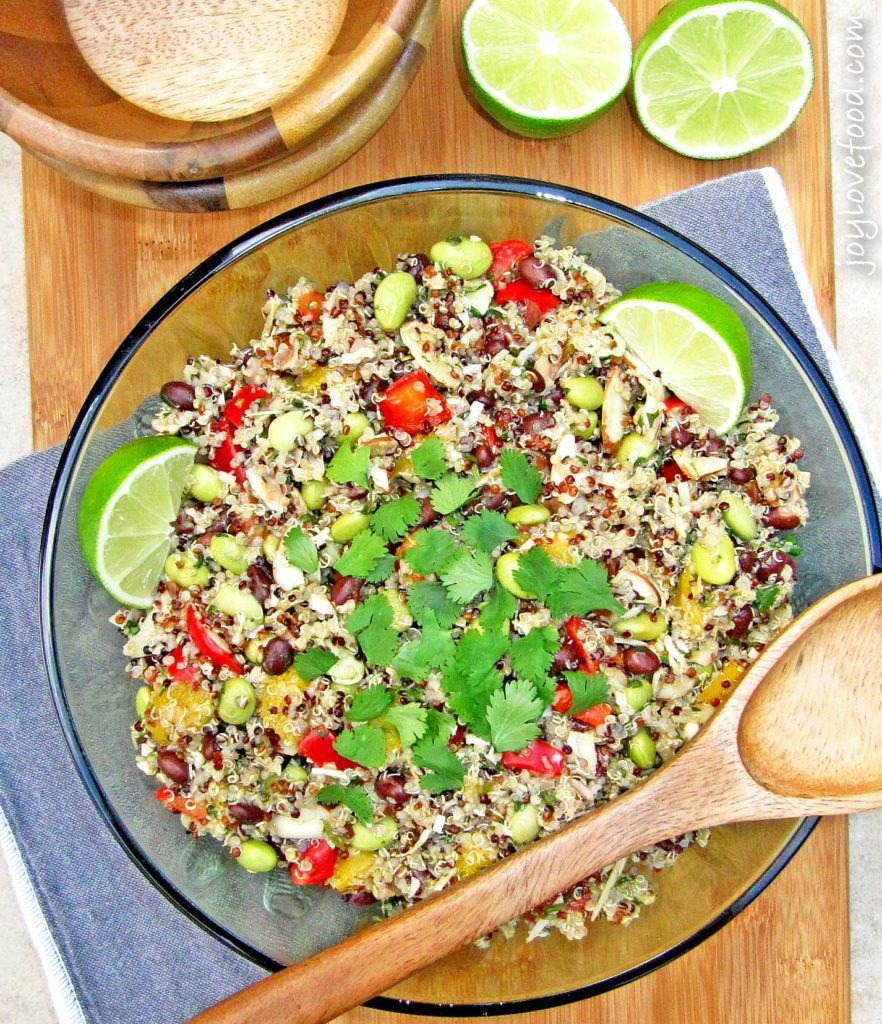 California Quinoa Salad with Black Beans