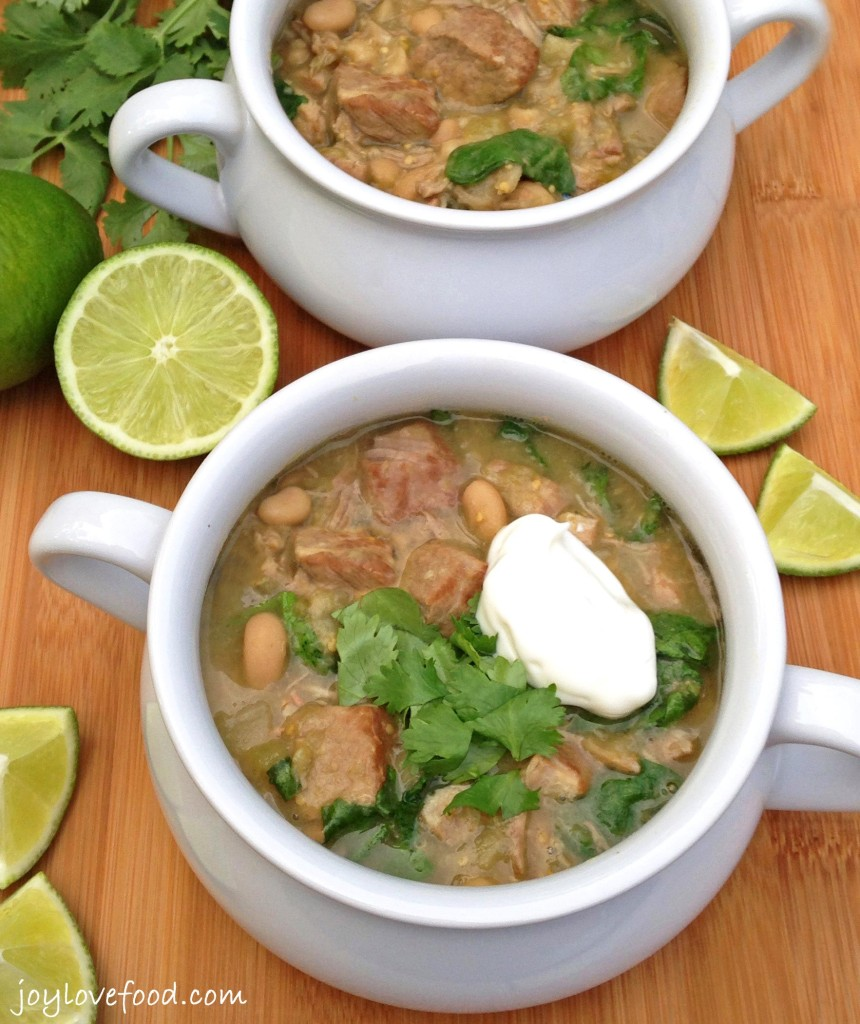 Slow Cooker Pork Chile Verde