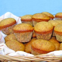 Spiced Pumpkin Mini Muffins