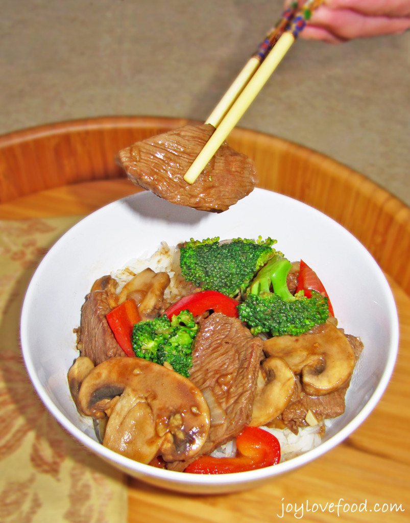 Beef and Broccoli in Black Bean Garlic Sauce