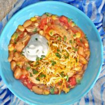 Crock Pot Chicken & Corn Chili