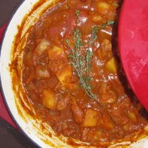 Pumpkin Turkey Goulash