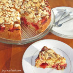 Cherry Almond Coffee Cake