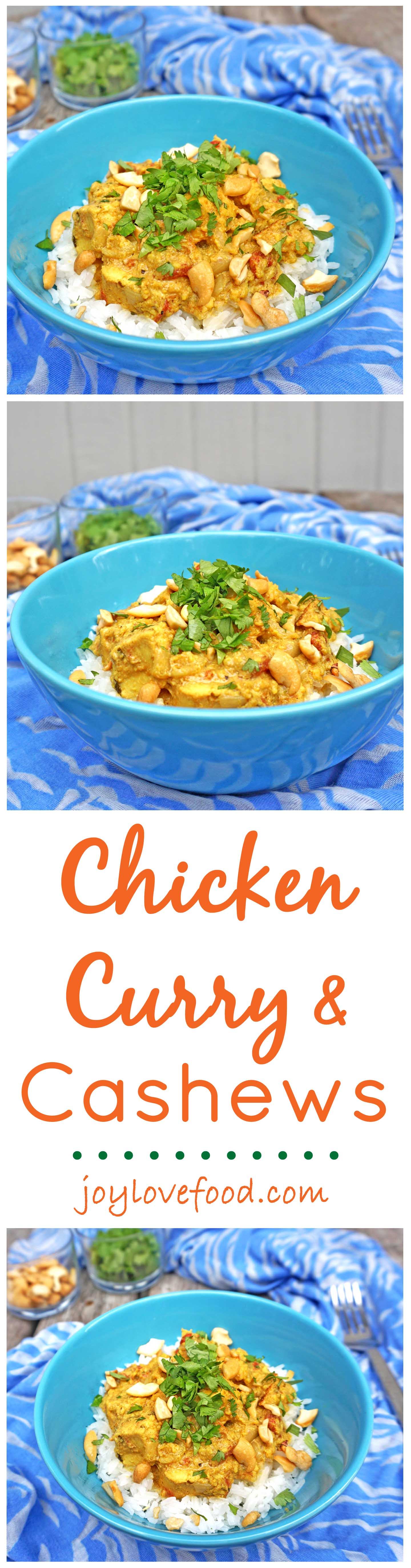 Chicken Curry with Cashews - a delicious, creamy and nutty curry that ...