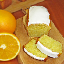 Orange Sunshine Mini Loaves
