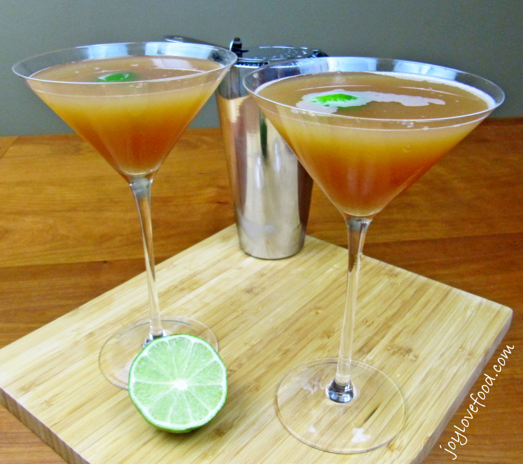 Blood Orange Juice Cocktails