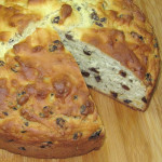 Irish Soda Bread with Caraway Seeds and Raisins
