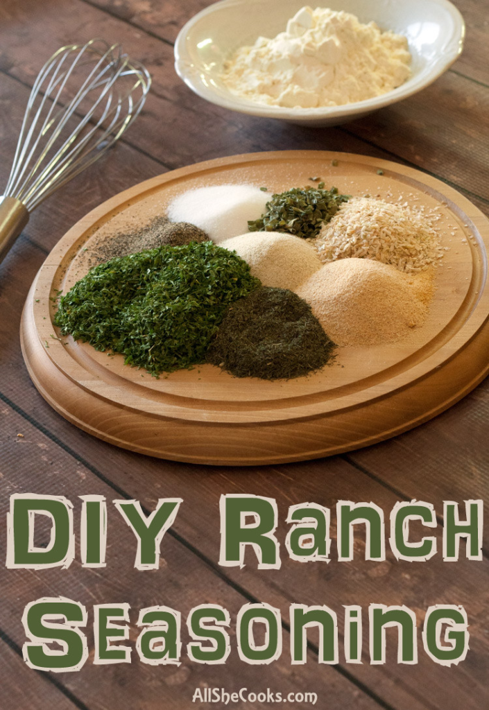 week8 - DIY Ranch Seasoning
