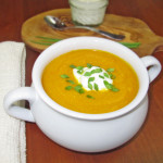 Crock Pot Curried Carrot Soup