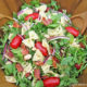 Bacon Arugula Tomato and White Bean Pasta Salad
