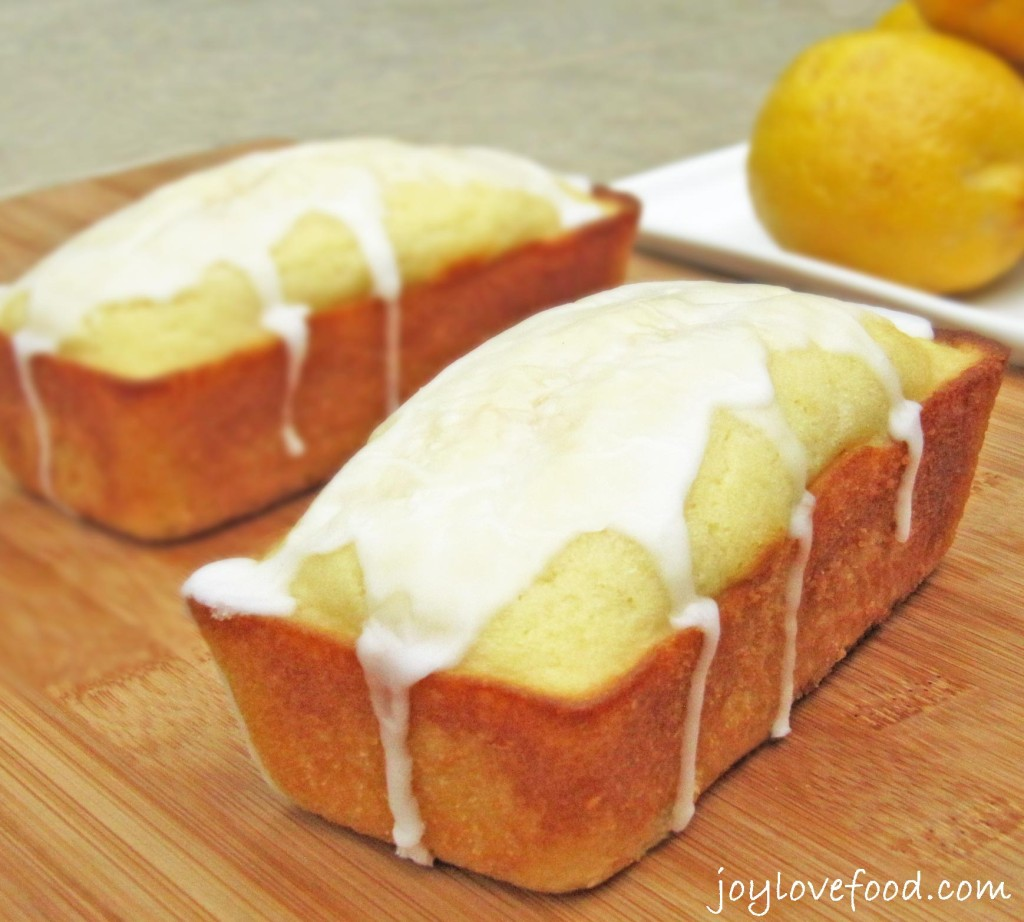 Lemon Buttermilk Mini Loaves