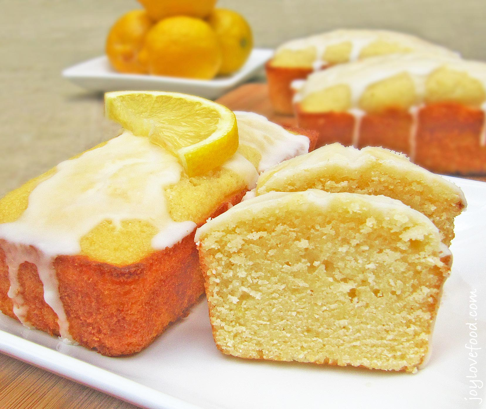 Lemon Buttermilk Mini Loaves Joy Love Food