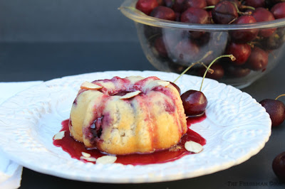 Cherry and Almond Bundt Cake