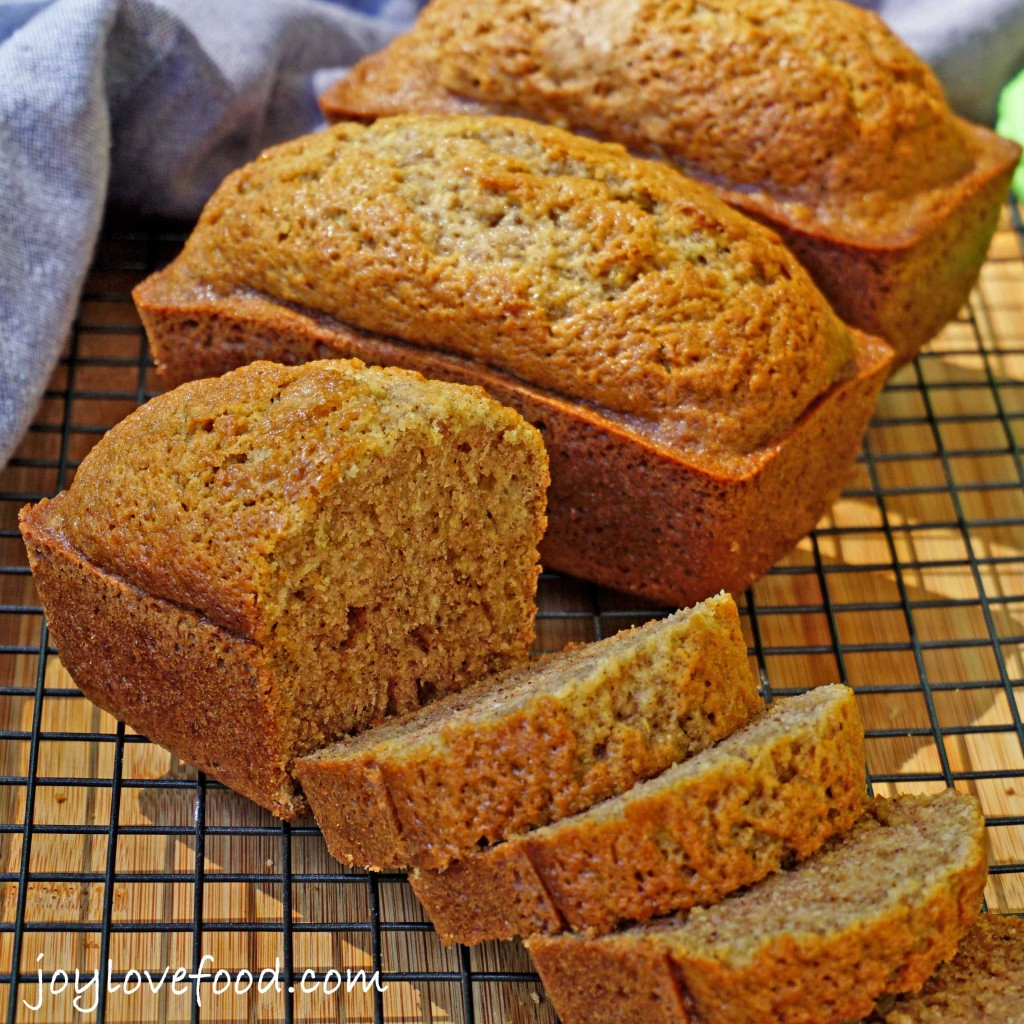Spiced Zucchini Bread Mini Loaves Joy Love Food
