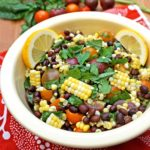 Tomato, Corn and Black Bean Salad