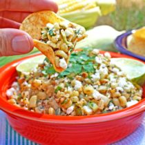 Corn and Green Chile Dip
