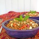Lentil Salad with Roasted Red Peppers, Feta and Mint