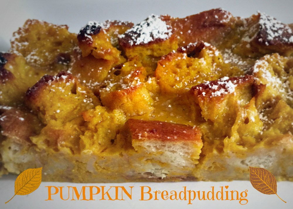 week38-pumpkin bread pudding
