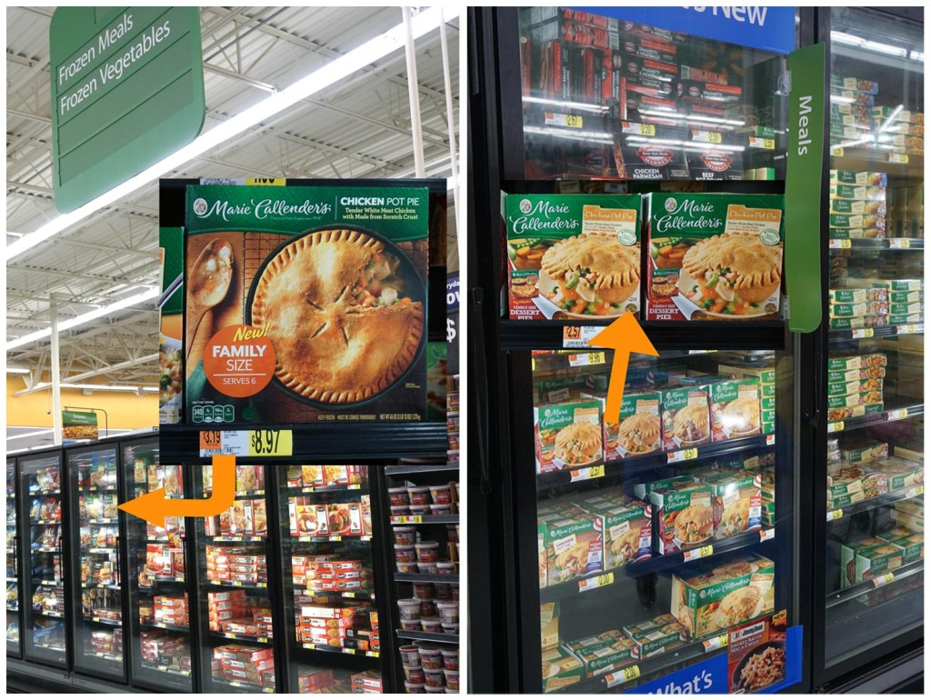 Marie Callender's Pot Pies at Walmart