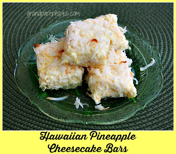 What'd You Do This Weekend? Feature - Hawaiian Pineapple Cheesecake Bars