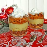 Pumpkin and Pecan Pie Trifles