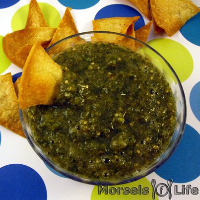 What'd You Do This Weekend? Feature Week 50 - Tomatillo Salsa Verde