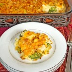Cheesy Chicken, Broccoli and Rice Casserole