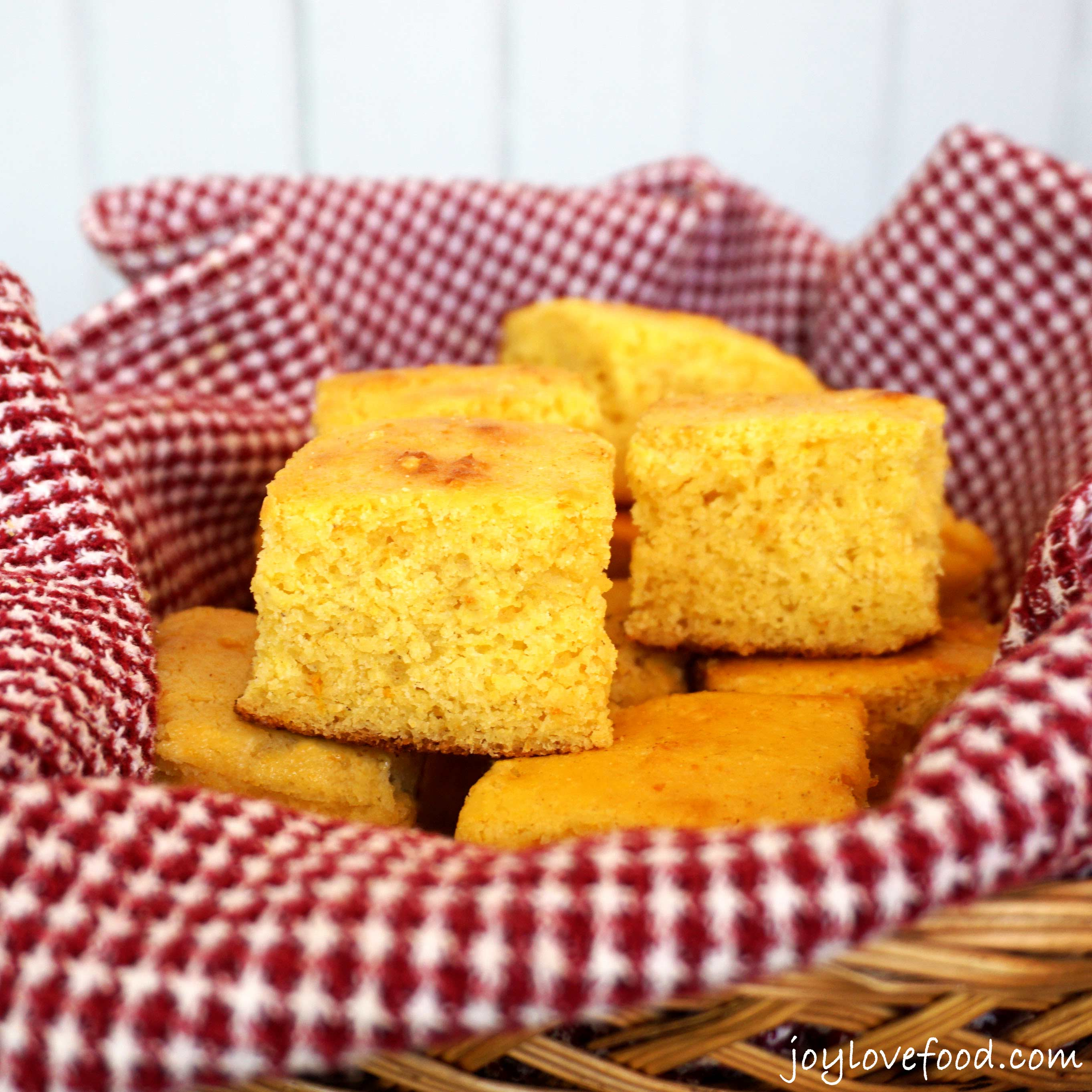 Orange Honey Cornbread + Homemade Cornbread Mix