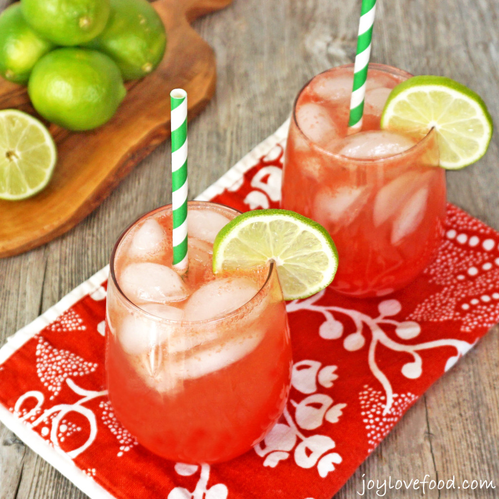Waterrmelon Lime Coolers