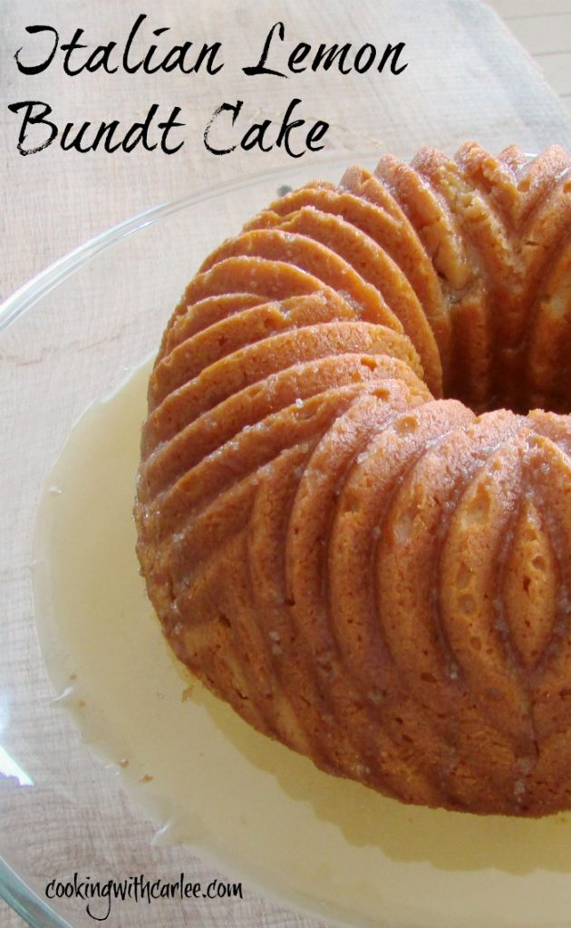 week69-Italian Lemon Bundt Cake