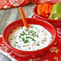 Creamy Garlic and Herb Dip