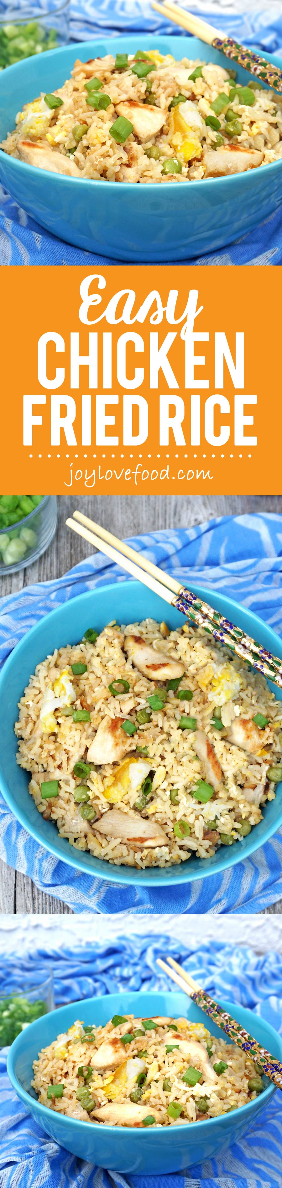 how to cook fried rice with chicken