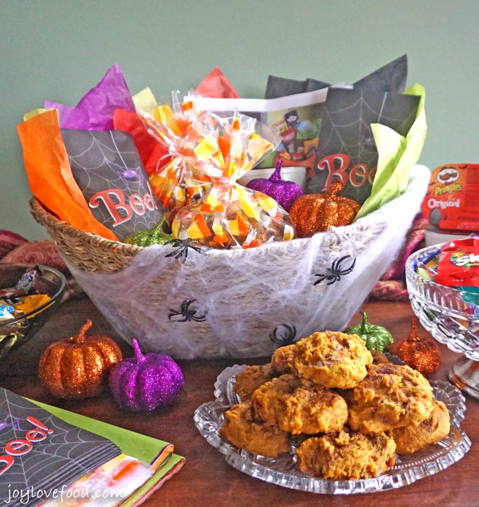 Pumpkin TWIX® Mini Scones and the Ultimate BOO Basket
