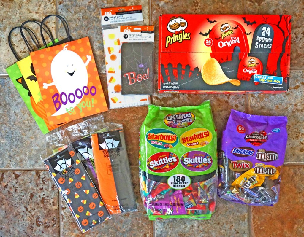 Halloween BOO Kit Essentials at home