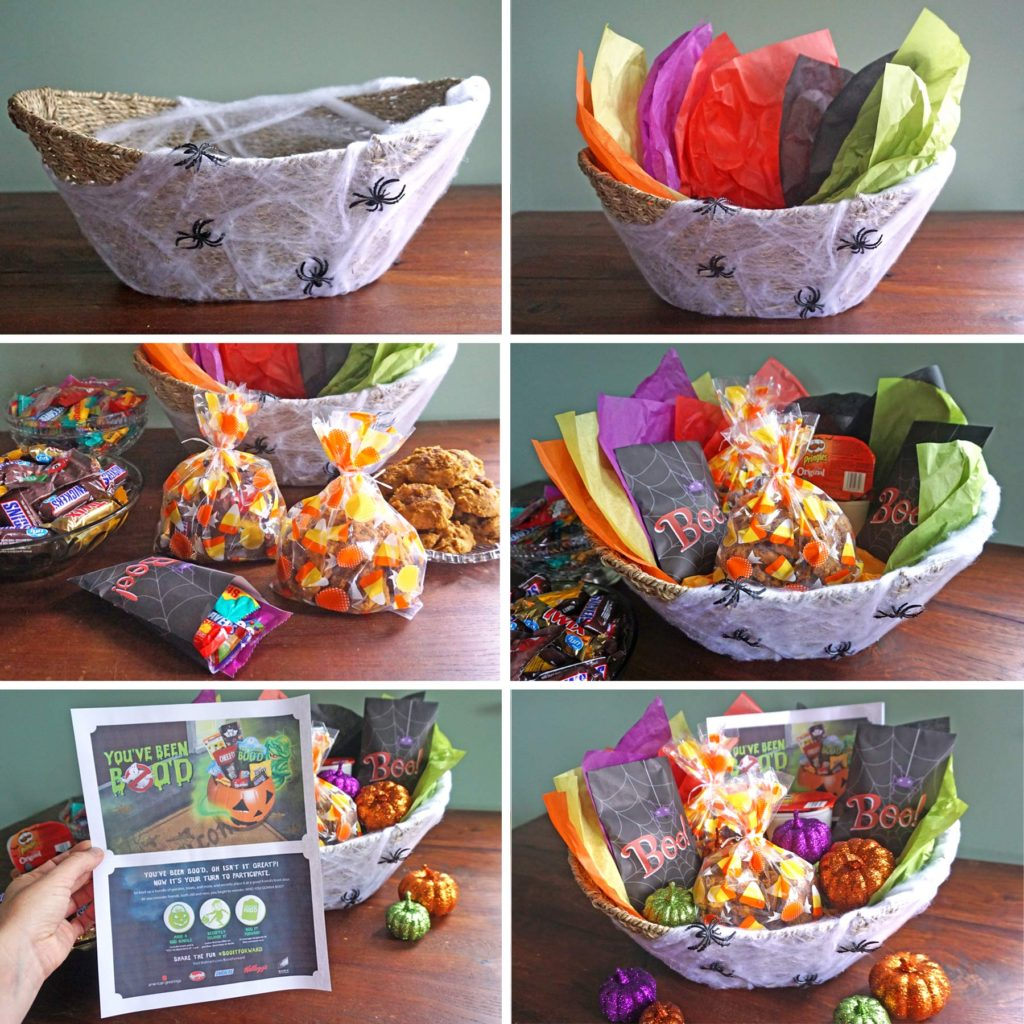 Assembling the Ultimate BOO Basket