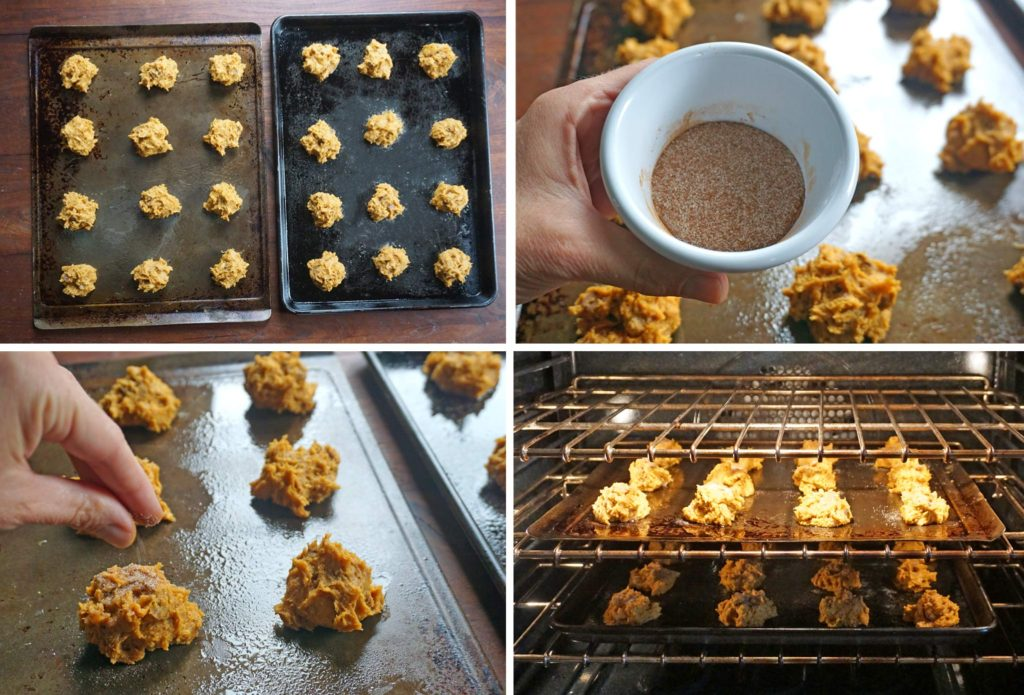 Pumpkin TWIX® Mini Scones - process steps 7-10