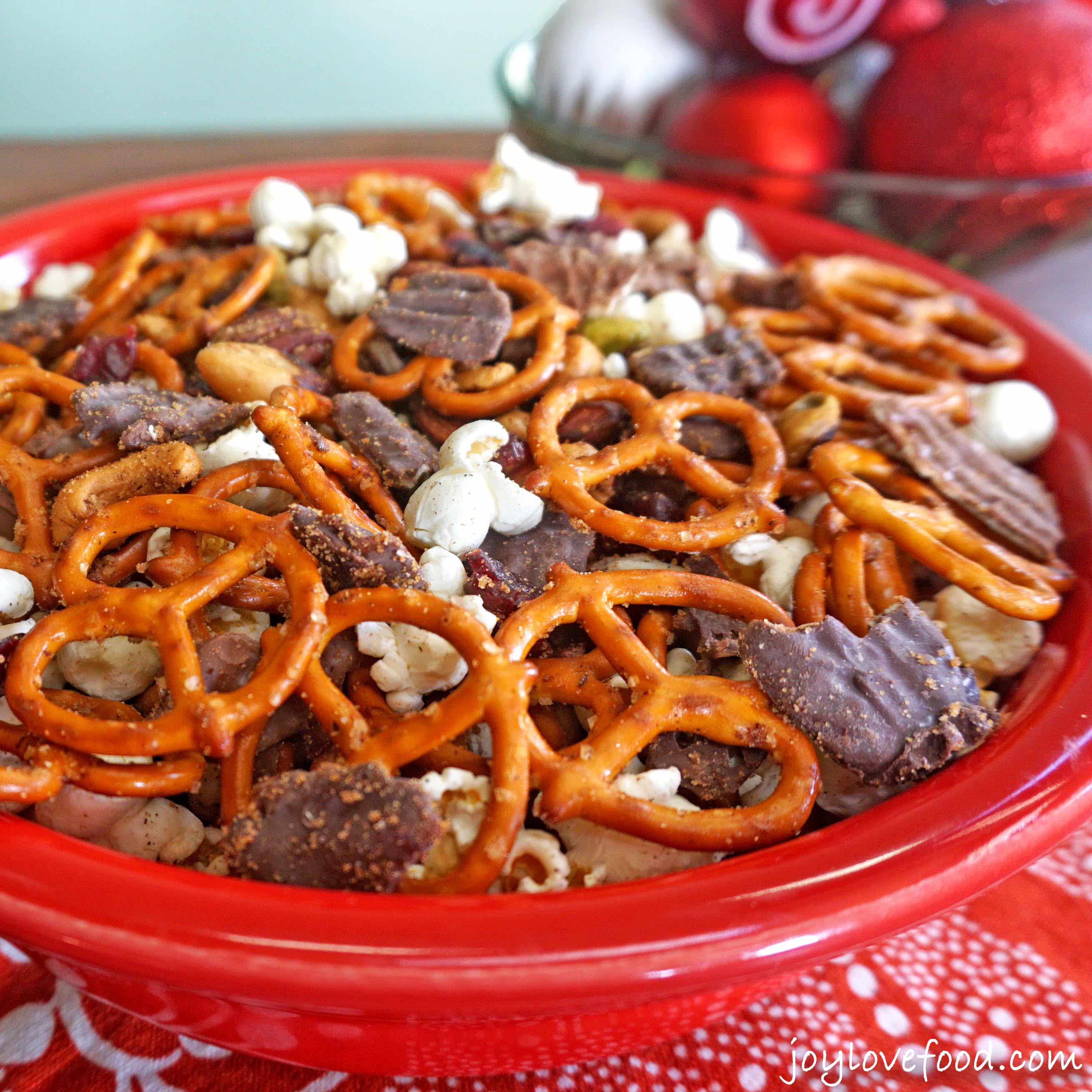 Spiced Holiday Snack Mix - Joy Love Food